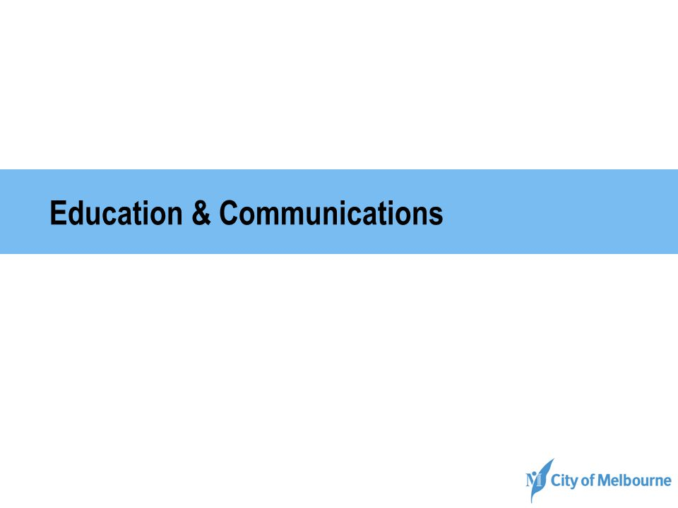 Education & Communications