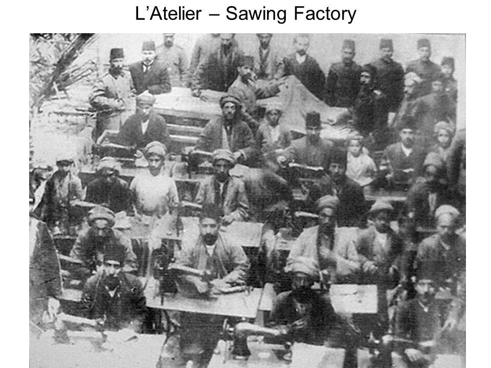 LAtelier – Sawing Factory