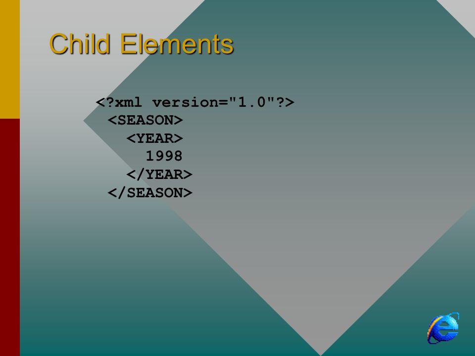 Child Elements 1998