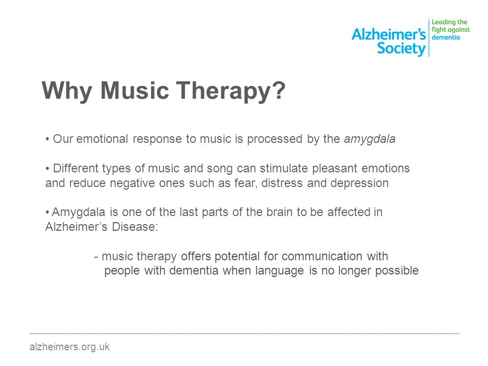 Why Music Therapy.