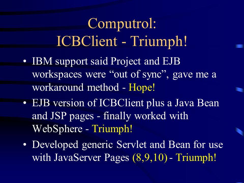 Computrol: ICBClient - Triumph.