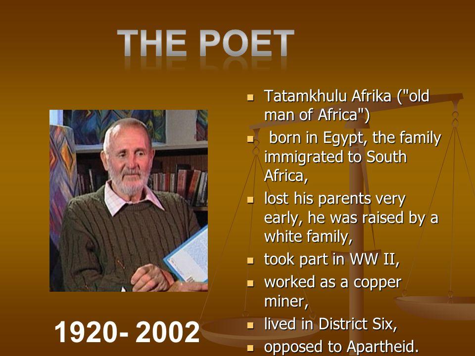Tatamkhulu Afrika (