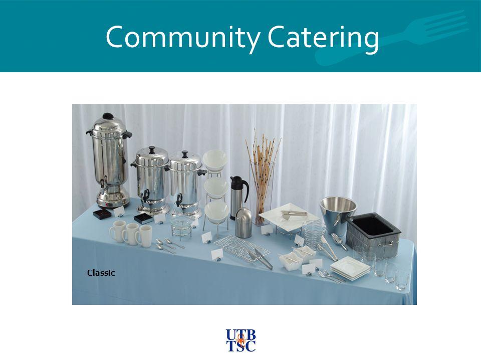 Community Catering Classic