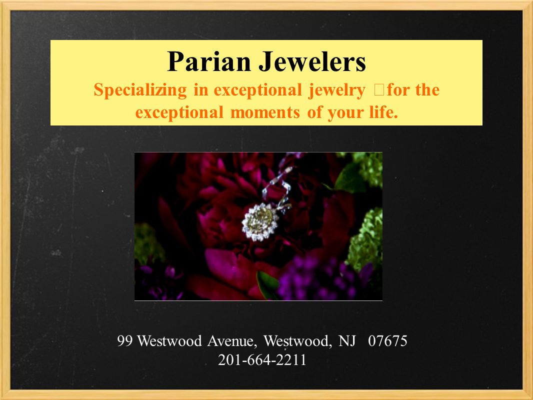 Parian Jewelers Specializing in exceptional jewelry for the exceptional moments of your life.