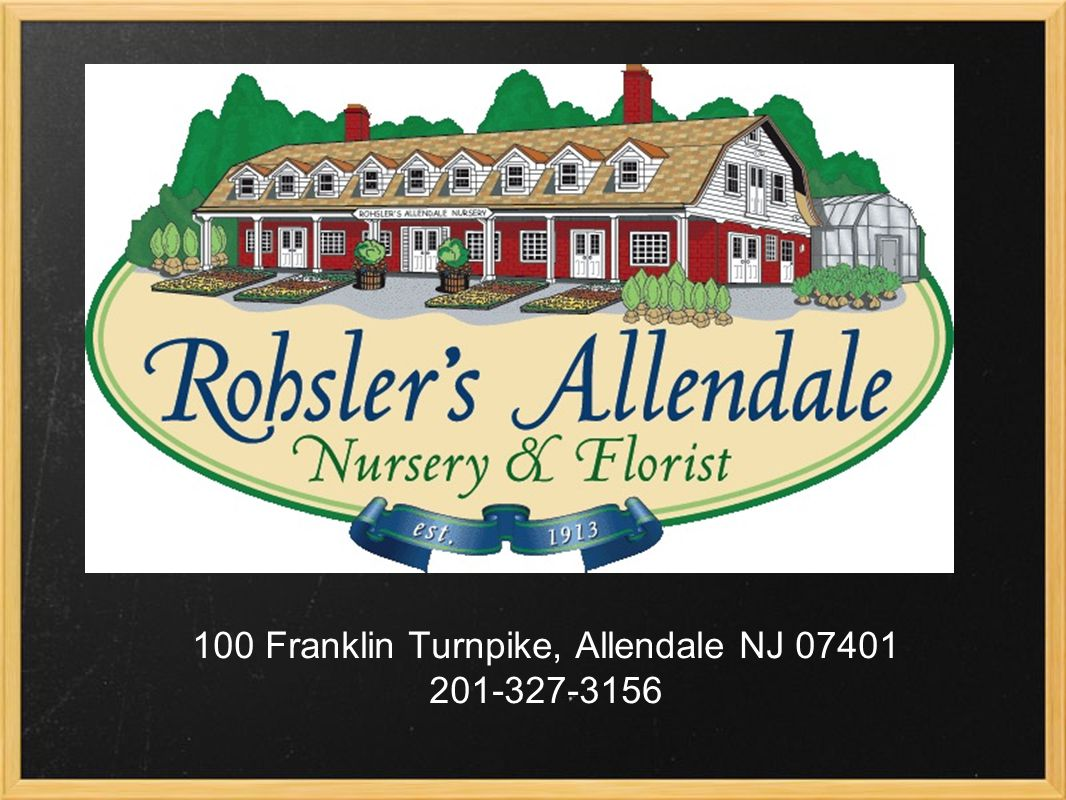 100 Franklin Turnpike, Allendale NJ