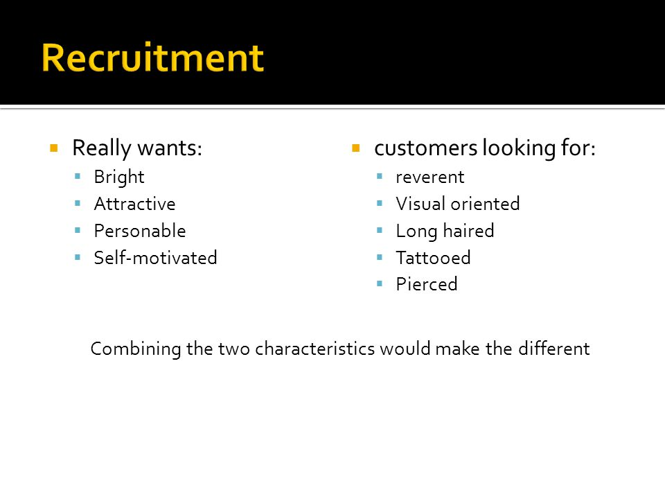 Hire best qualified not best available.