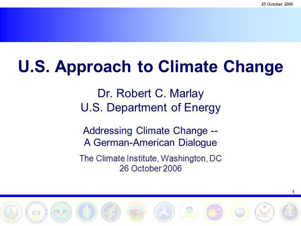 2 25 October 2006 The U.S.