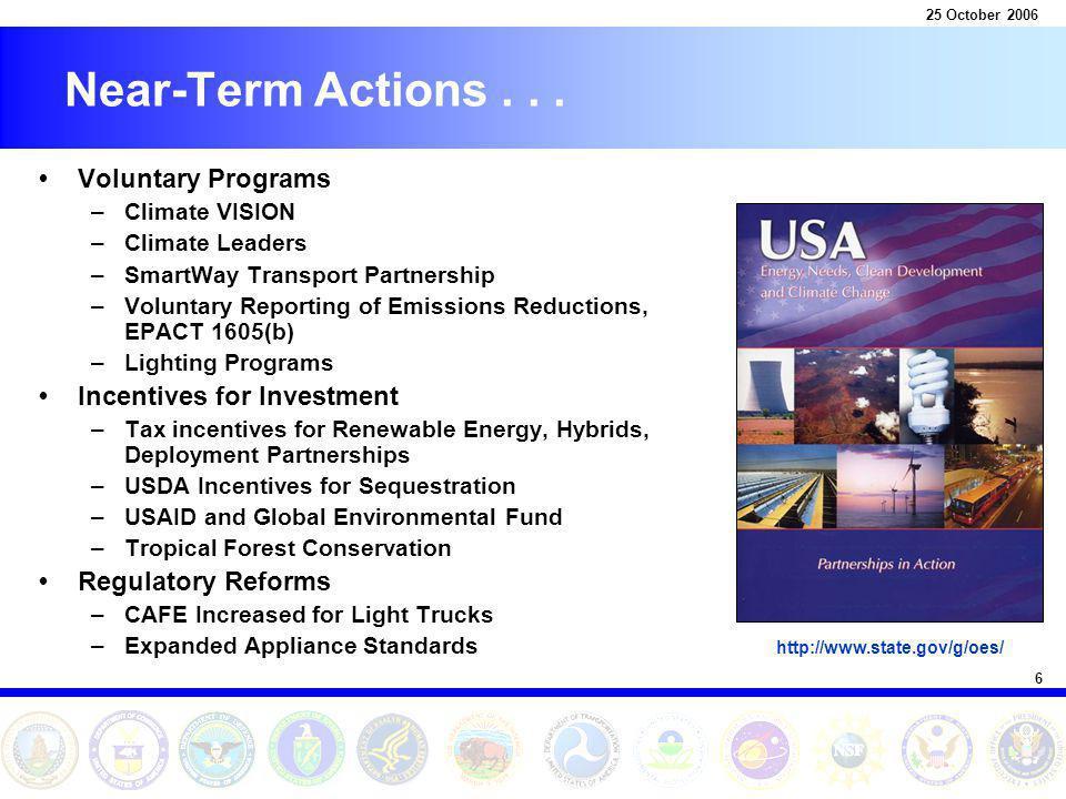 6 Near-Term Actions...
