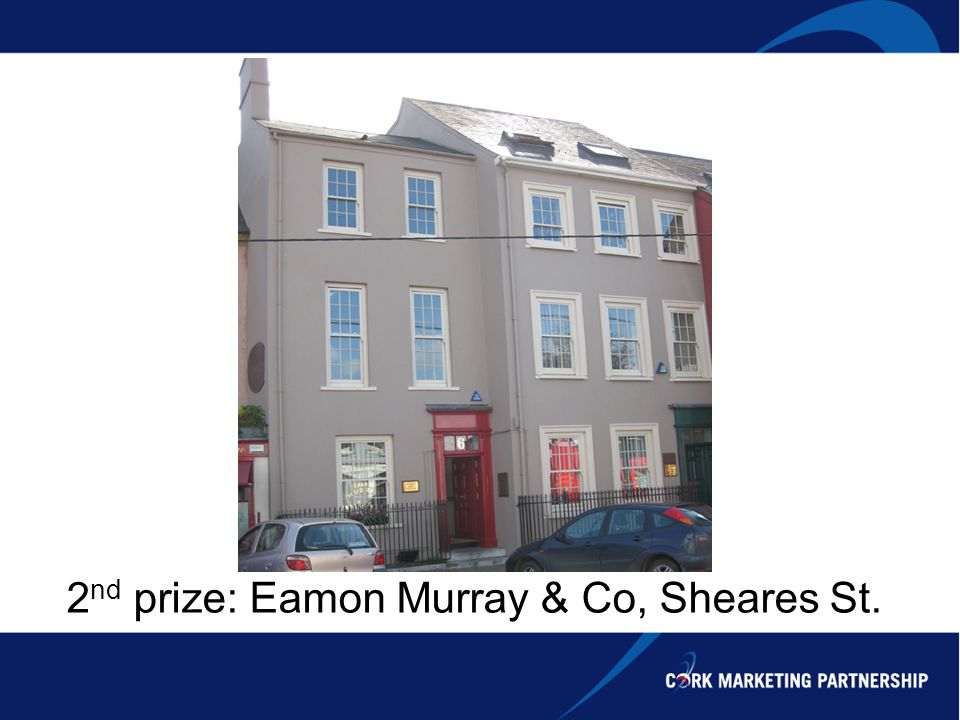 2 nd prize: Eamon Murray & Co, Sheares St.