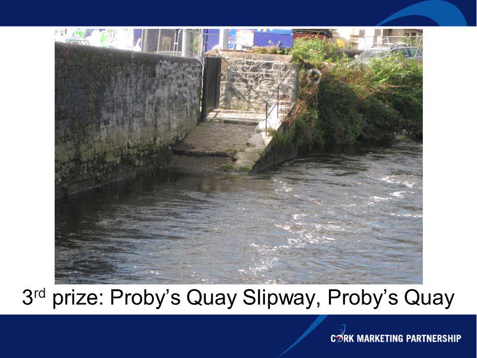 3 rd prize: Probys Quay Slipway, Probys Quay