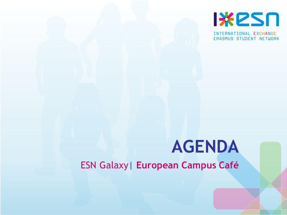 AGENDA ESN Galaxy| European Campus Café