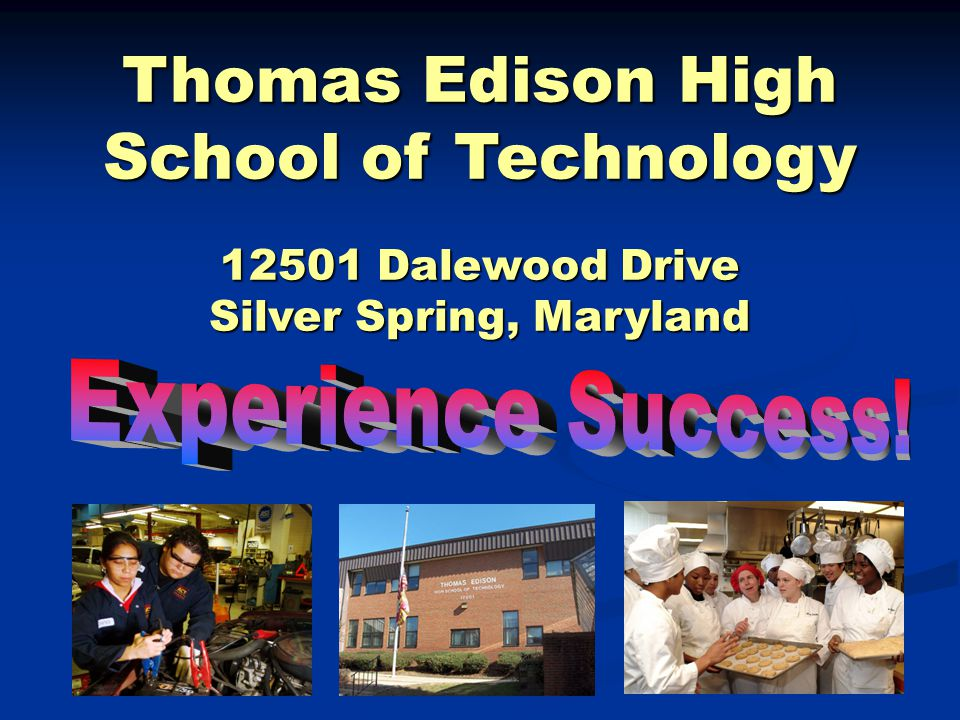 Does Thomas Edison have a work experience and job placement program.