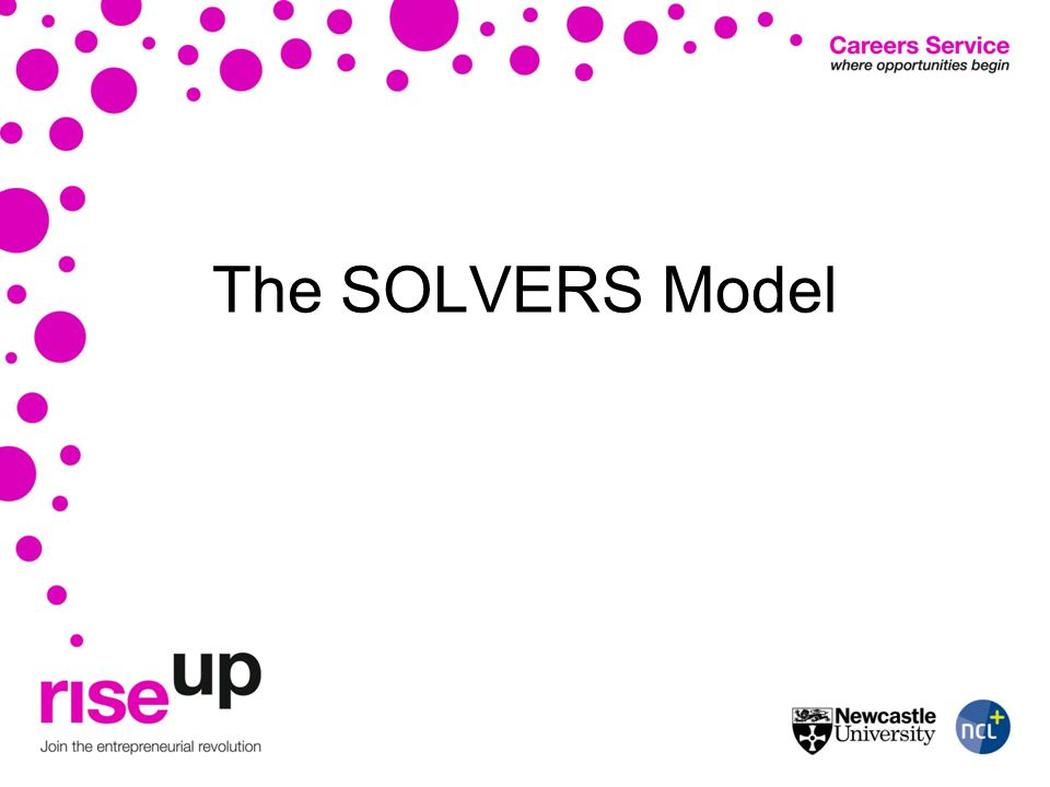 The SOLVERS Model