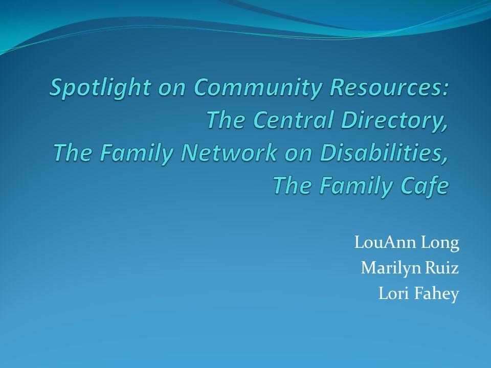 LouAnn Long Marilyn Ruiz Lori Fahey