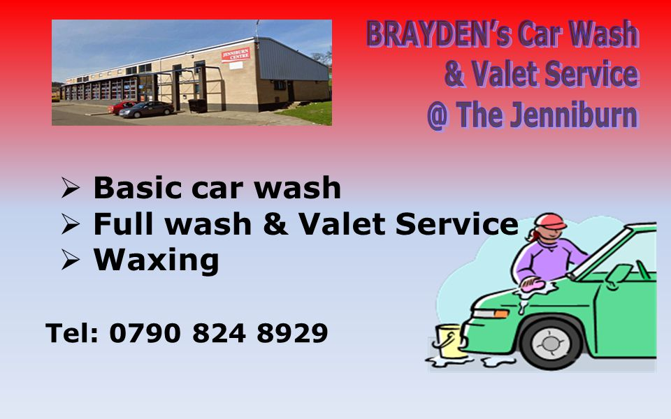 Basic car wash Full wash & Valet Service Waxing Tel: 0790 824 8929