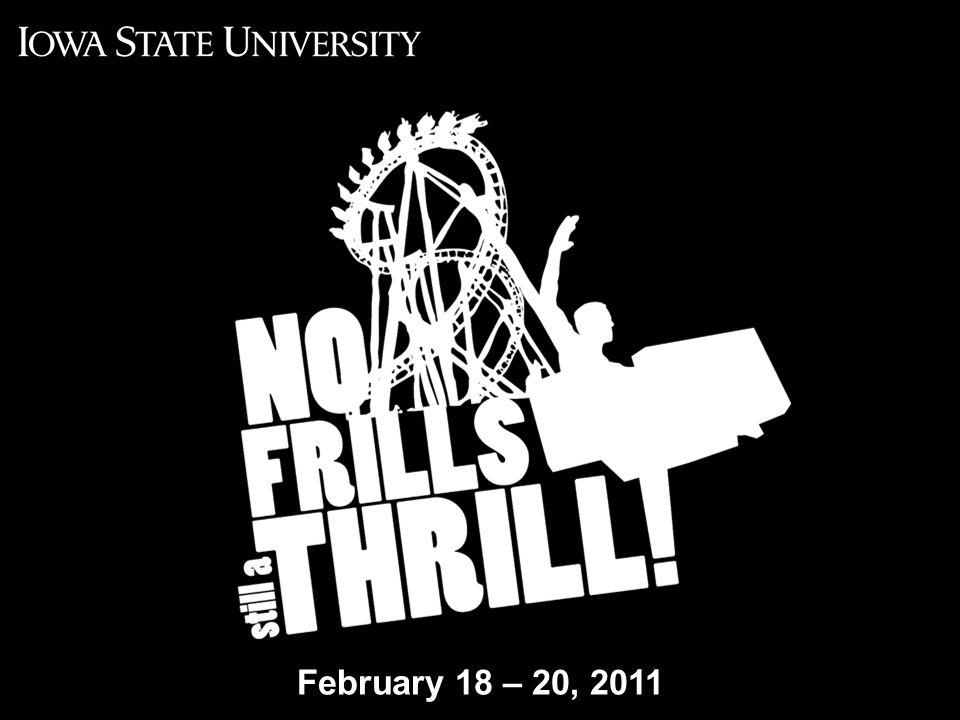 No Frills 2011: Still a Thrill February 18 – 20, 2011