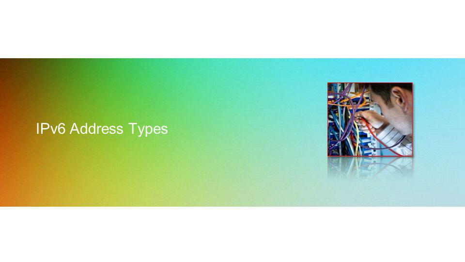IPv6 Address Types