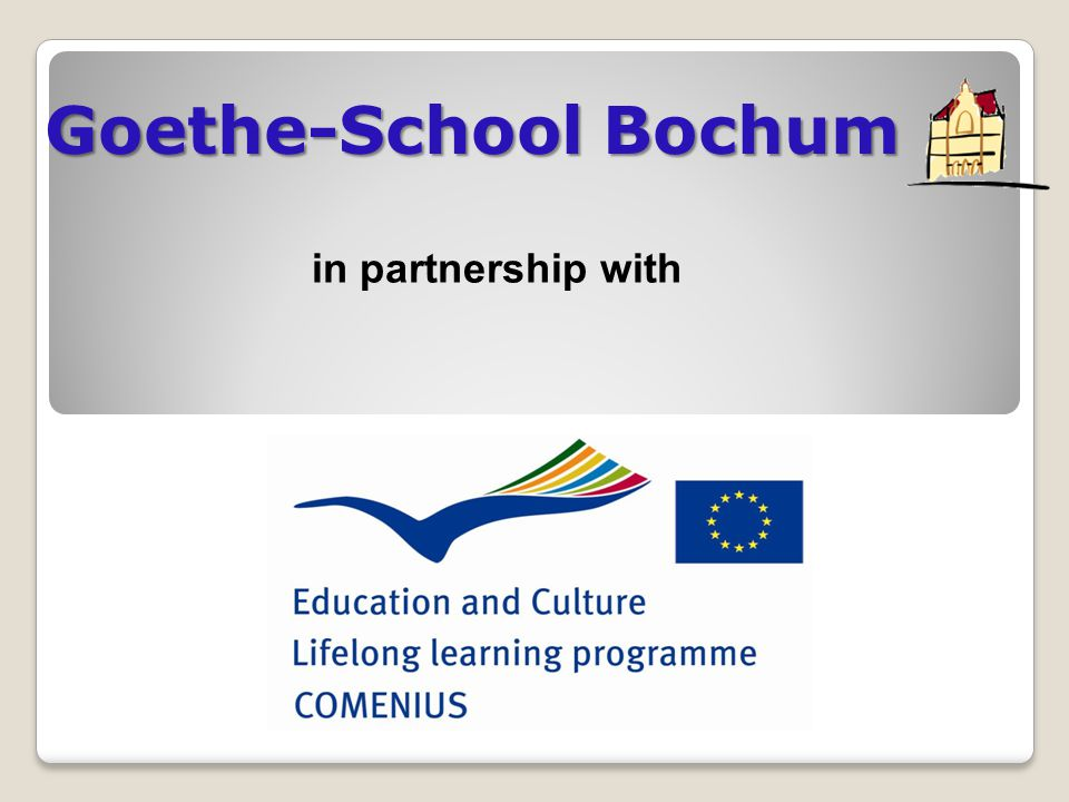 Goethe-School Bochum in partnership with