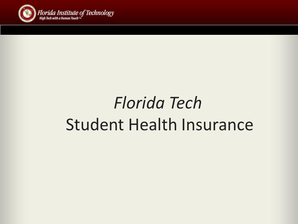 Florida Tech Student Health Insurance