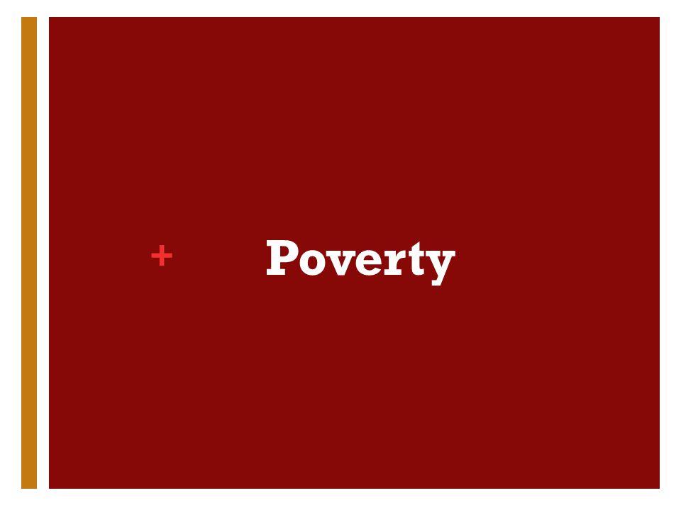 + Poverty