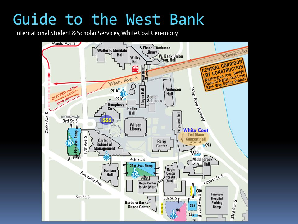 Guide to the West Bank International Student & Scholar Services, White Coat Ceremony