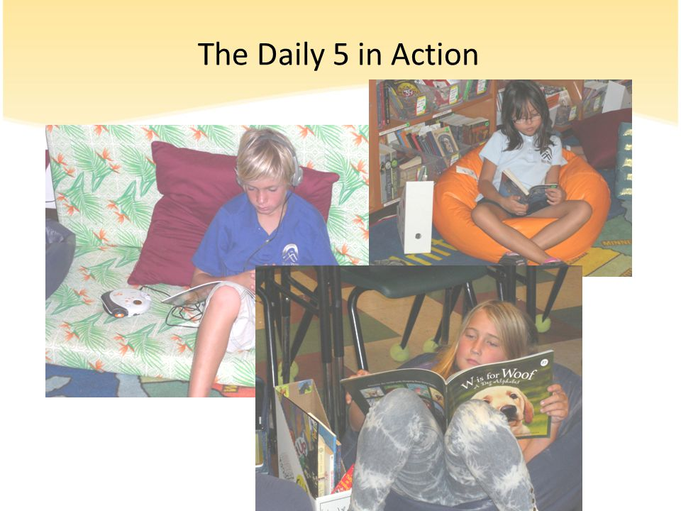 The Daily 5 in Action