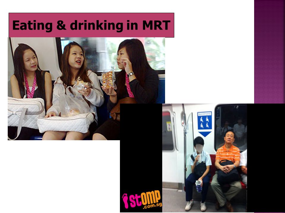 Eating & drinking in MRT