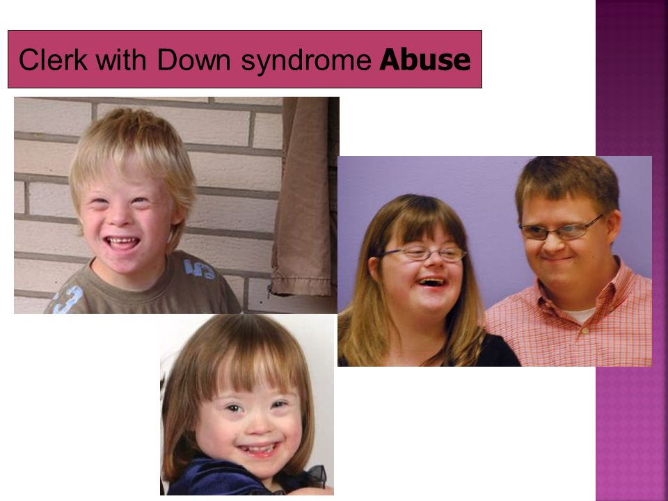 Clerk with Down syndrome Abuse