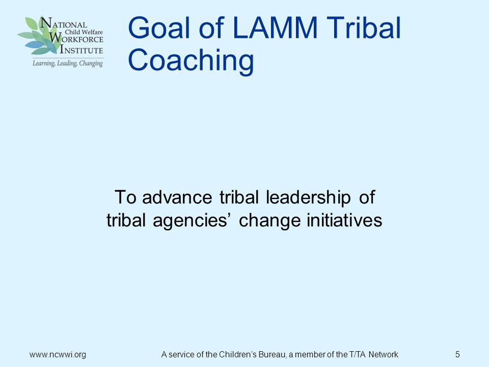 NCWWI Leadership Model www.ncwwi.org A service of the Childrens Bureau, a member of the T/TA Network 16