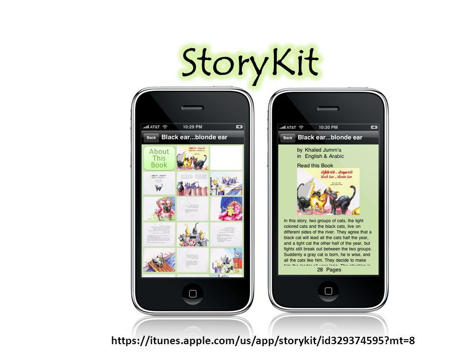 https://itunes.apple.com/us/app/storykit/id329374595?mt=8