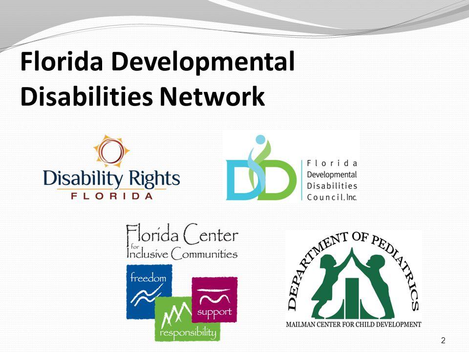 Florida Developmental Disabilities Network 2