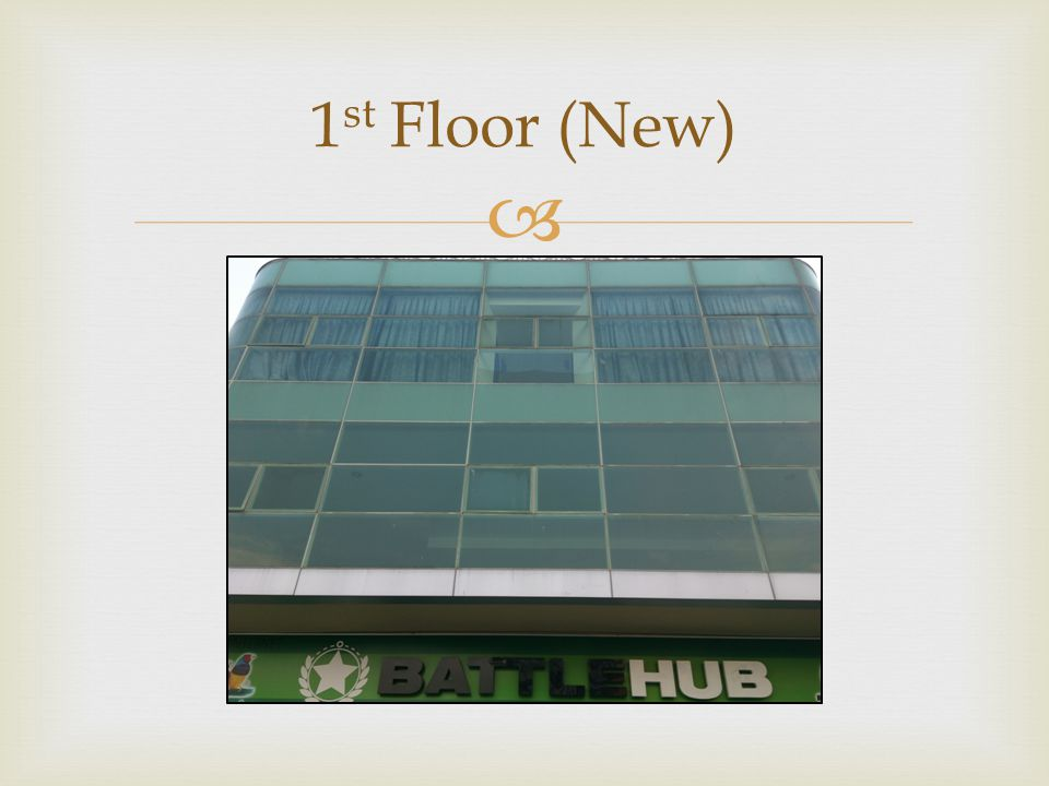 1 st Floor (New)