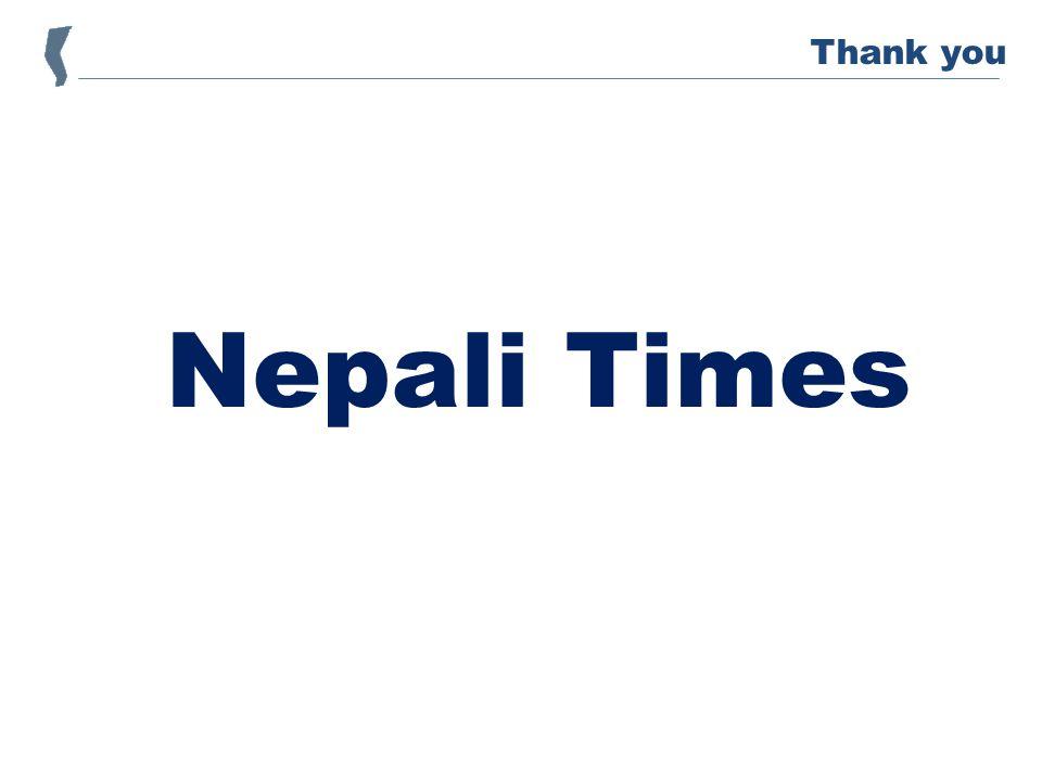 Nepali Times Thank you