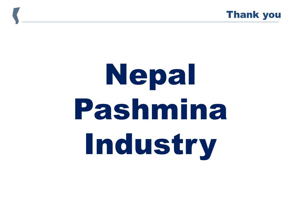 Nepal Pashmina Industry Thank you