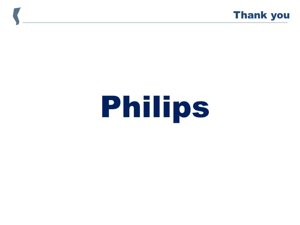 Philips Thank you