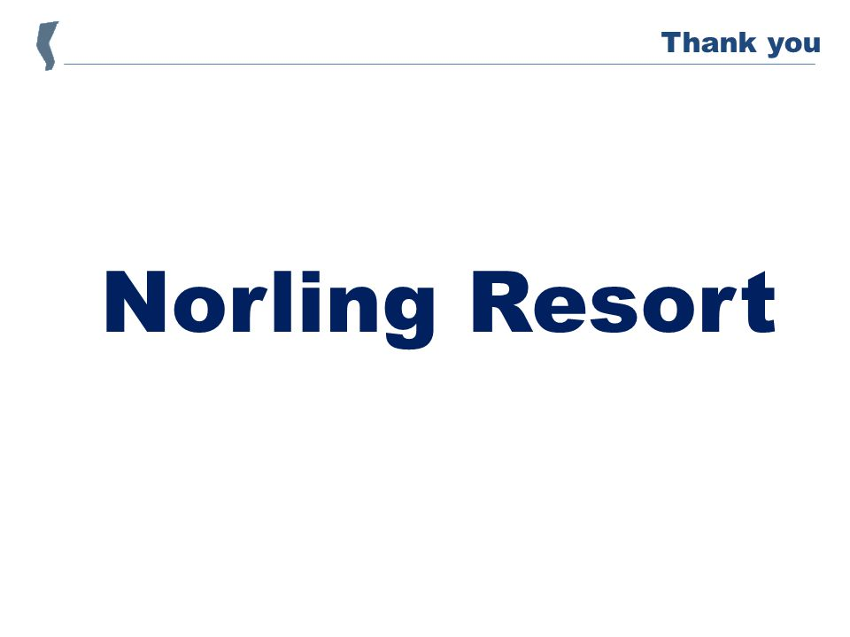 Norling Resort Thank you
