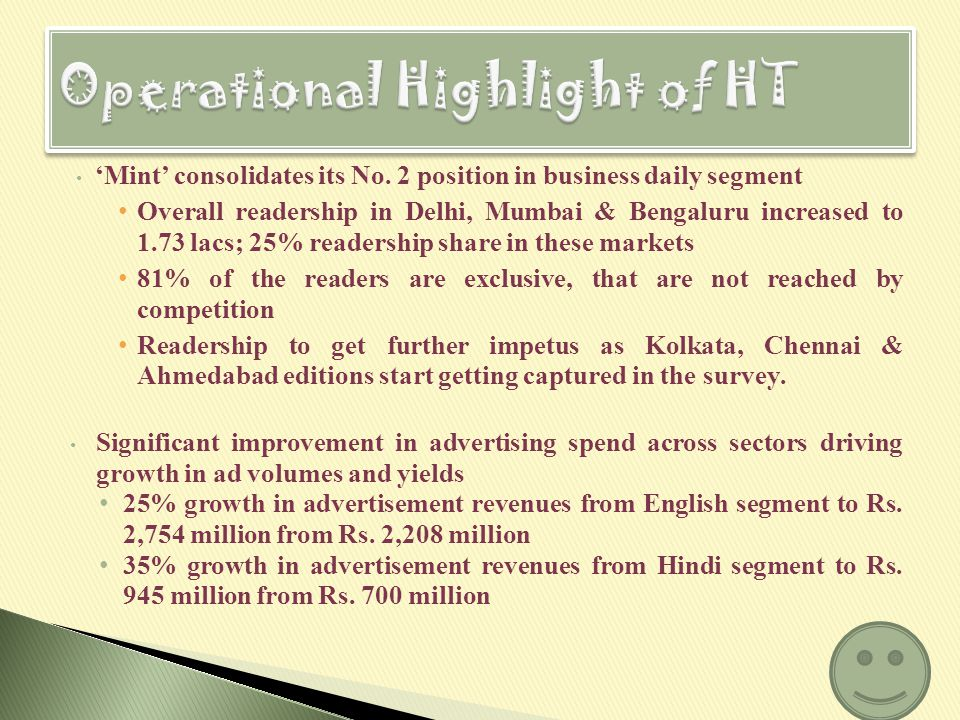 Hindustan Times readership grows to 35.2 lacs; Maintains its No.
