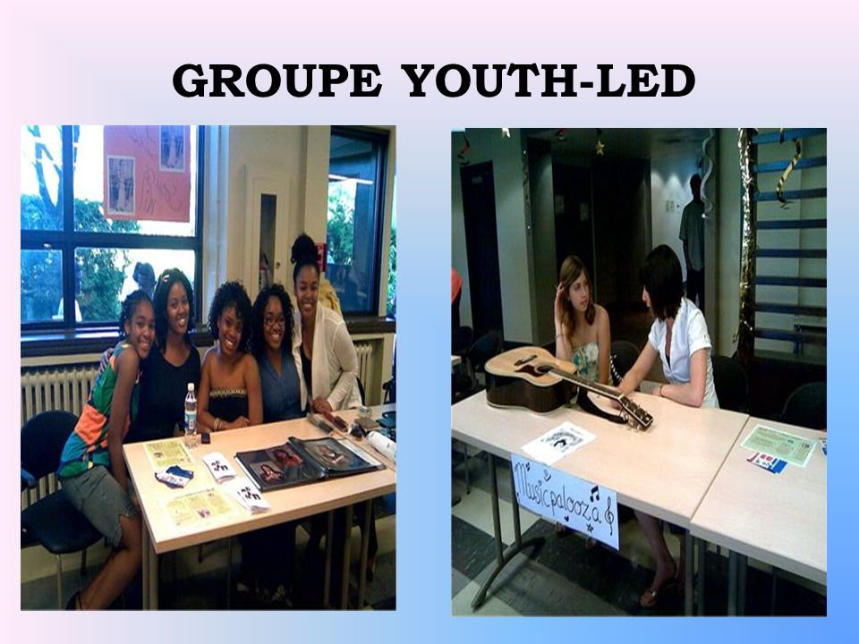 GROUPE YOUTH-LED