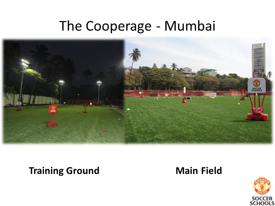 Training GroundMain Field The Cooperage - Mumbai