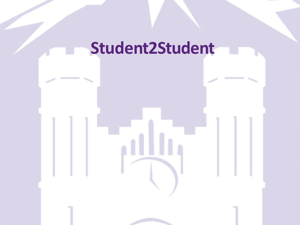 Student2Student