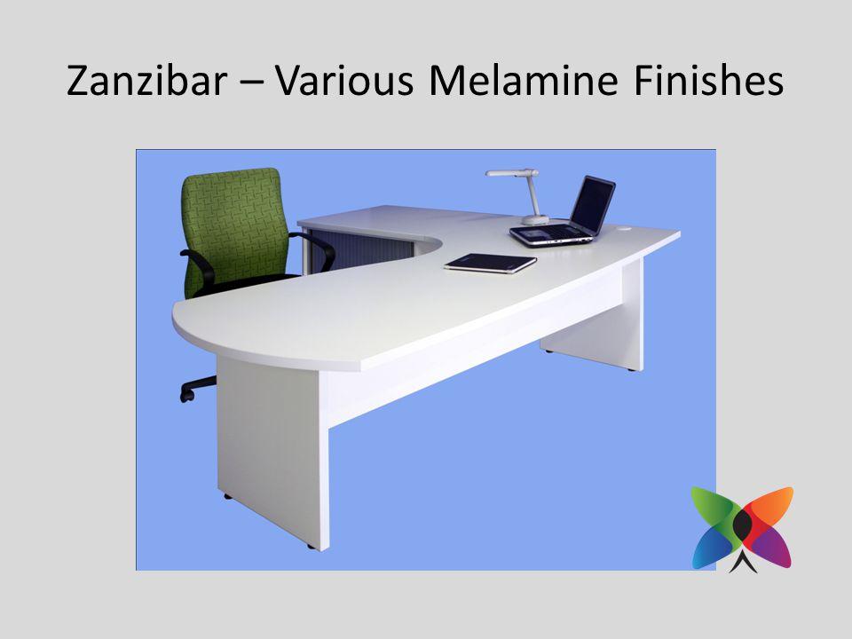 Zanzibar – Various Melamine Finishes
