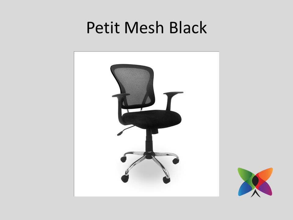 Petit Mesh Black