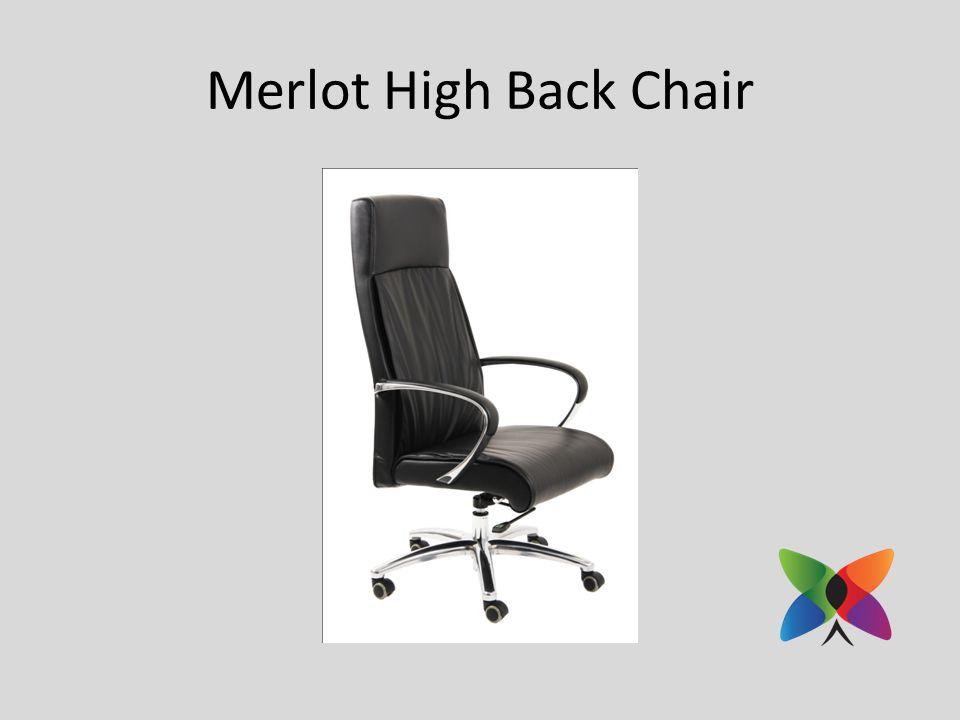Merlot High Back Chair