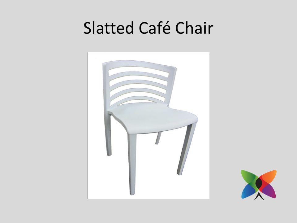 Slatted Café Chair