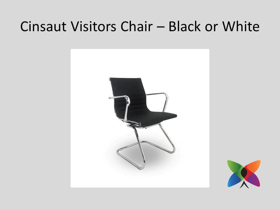 Cinsaut Visitors Chair – Black or White
