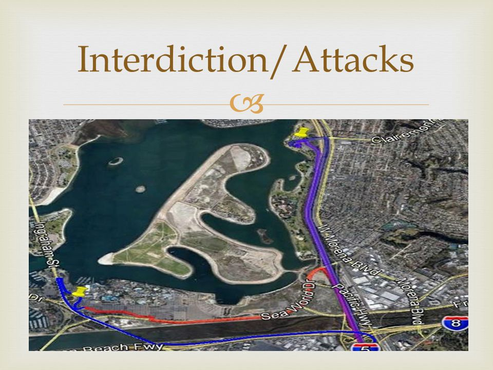 Interdiction/Attacks
