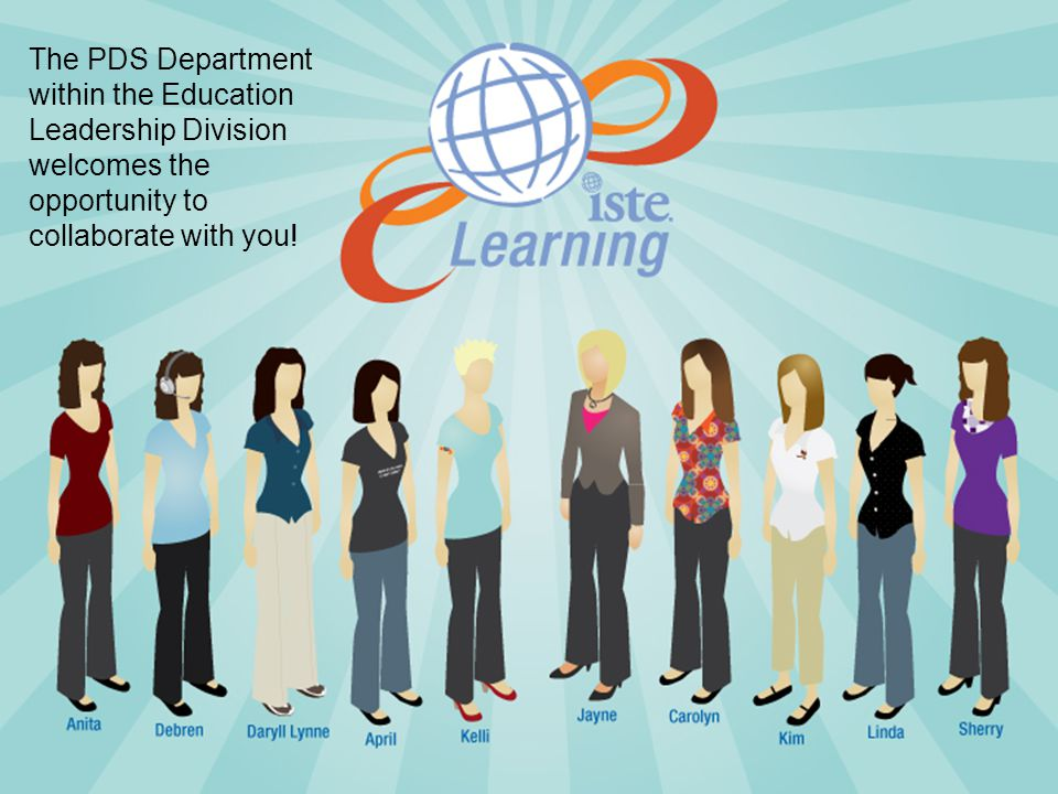 The PDS Department within the Education Leadership Division welcomes the opportunity to collaborate with you!