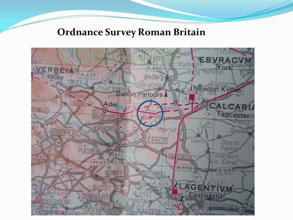 Modern Ordnance Survey map