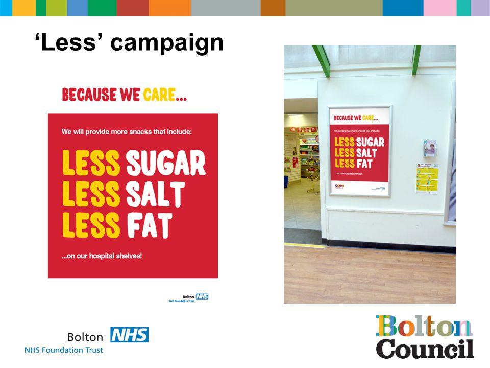 Less campaign