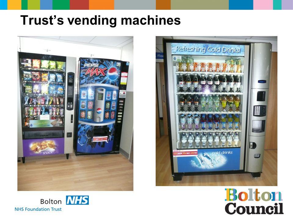 Trusts vending machines